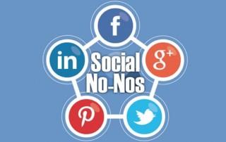 Social Media No Nos