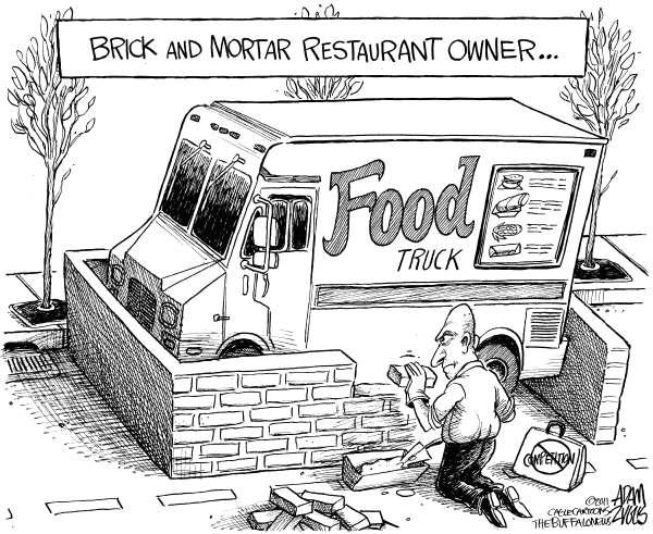 Brick and Mortar Food Truck