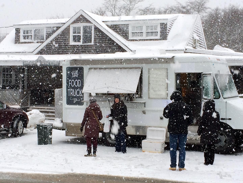 Food Truck Winter Storage