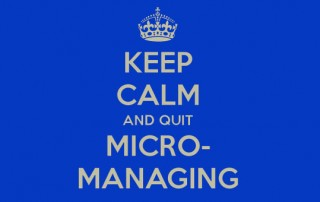 Micromanage Yourself