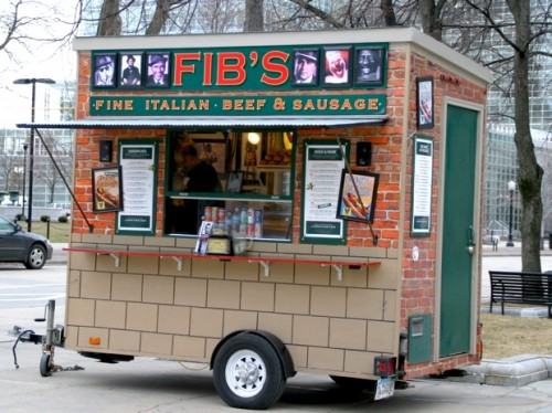 Madison food-cart Fibs