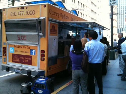 san francisco food truck on street