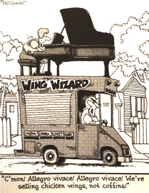 Wing Truck Cartoon Tennant
