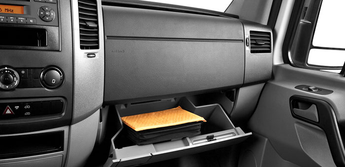 in your glove box