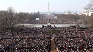 2009 inauguration crowd