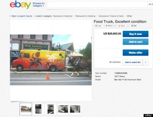 food truck ebay