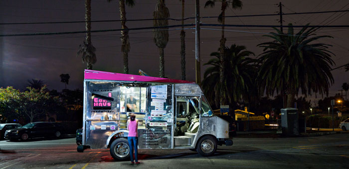 pose your food truck