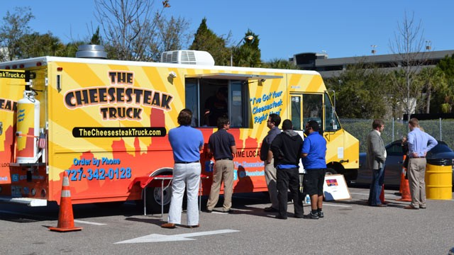 Cheesesteak Food Truck Menu
