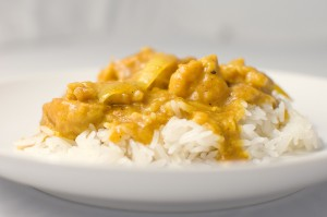 Poached Burmese Python Curry