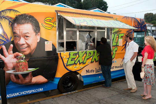 pineapple express food truck