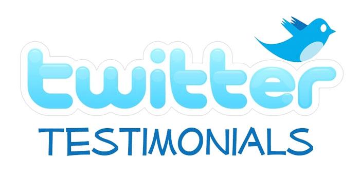 twitter testimonials