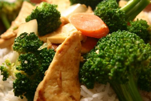 Ginger Sweet Chicken and Broccoli Stir-Fry