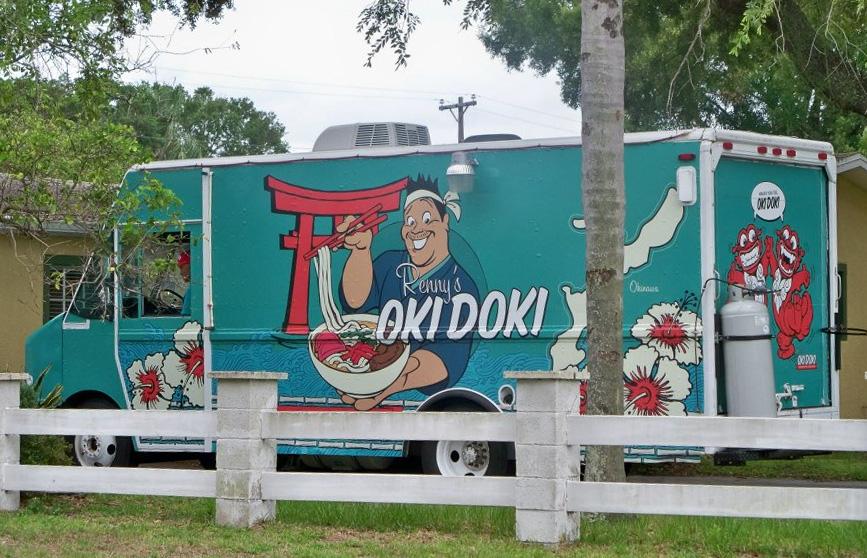 Renny 39 s oki doki 2013 best food truck graphics for Best food truck designs