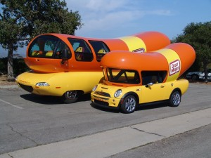 National Caviar Day further 1306839 as well Wienermobile crashed 7 pics besides 8712 oscar mayer wienermobile first test additionally 2015 Mini 5 Door Hatchback Review Video 87593. on oscar mayer wienermobile facts