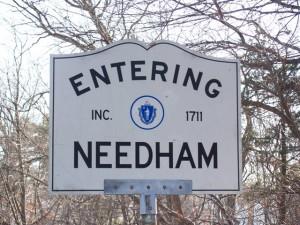 Needham MA Sign