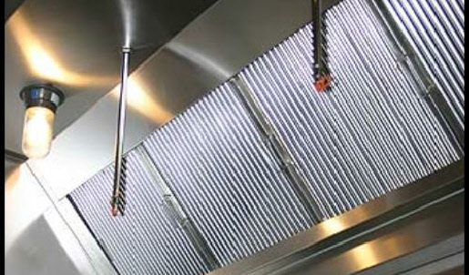 food truck exhaust hood