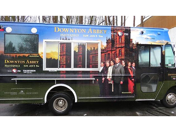 Downton Abbey Food Truck