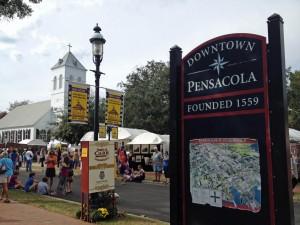 Pensacola downtown