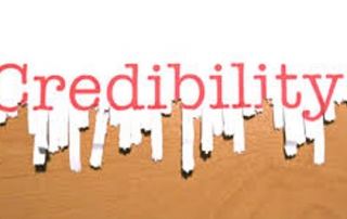 establish credibilty