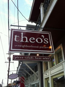 theos pizza sign