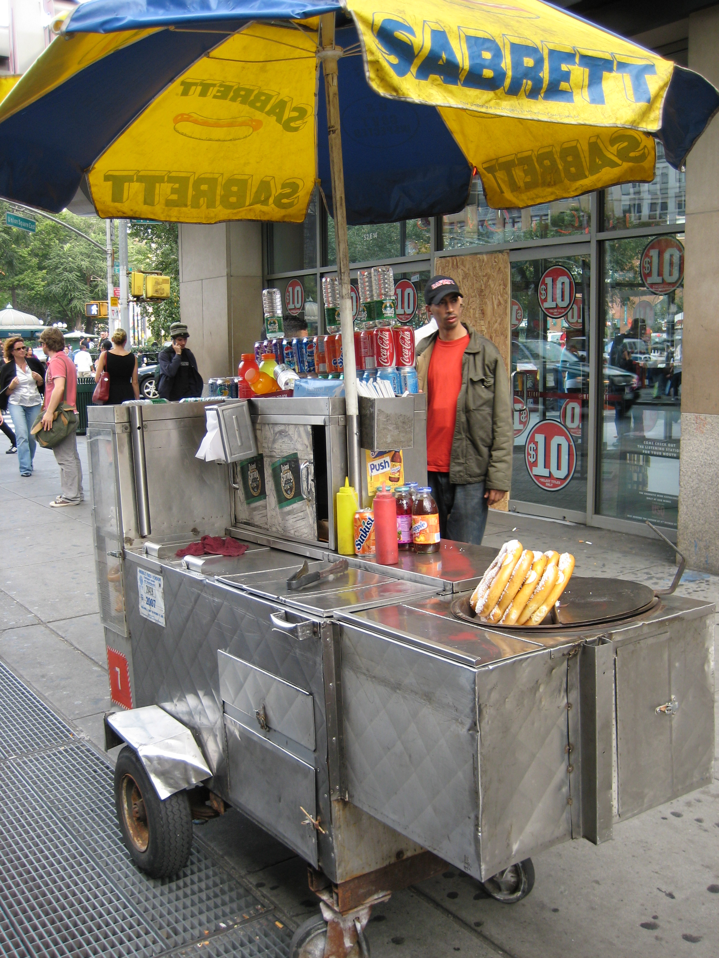 Hot Dog Cart Vendor Insurance