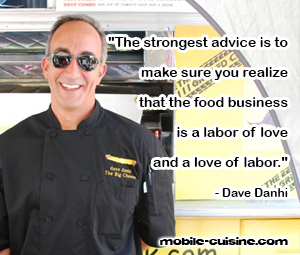 Dave Danhi Food Truck Quote