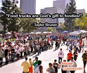 Taylor Bruner Food Truck Quote