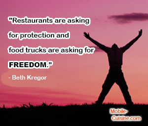 Beth Kregor Food Truck Quote
