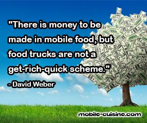 David Weber Food Truck Quote