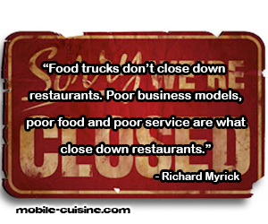 Richard Myrick Food Truck Quote