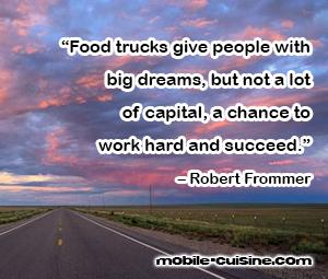 Robert Frommer Food Truck Quote