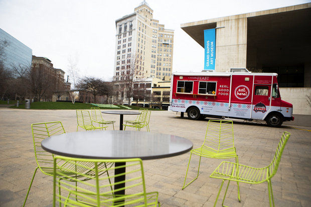 Food Trucks Downtown Grand Rapids