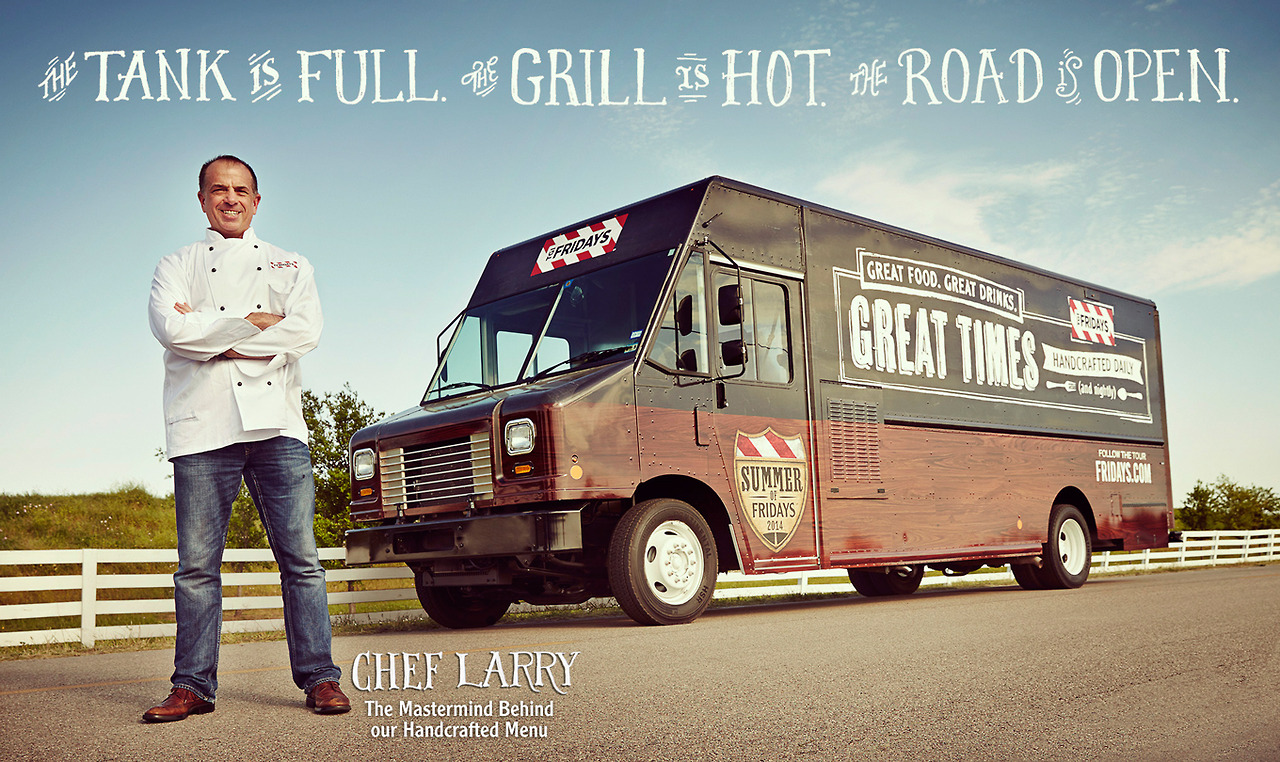 tgi fridays food truck
