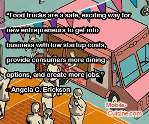 Angela Erickson Food Truck Quote