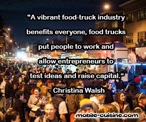 Christina Walsh Food Truck Quote