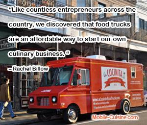 Rachel Billow Food Truck Quote