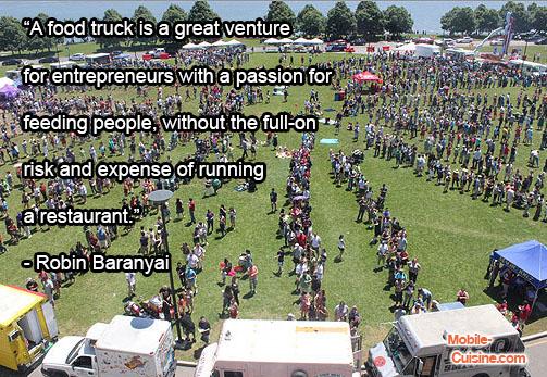 Robin Baranyai Food Truck Quote