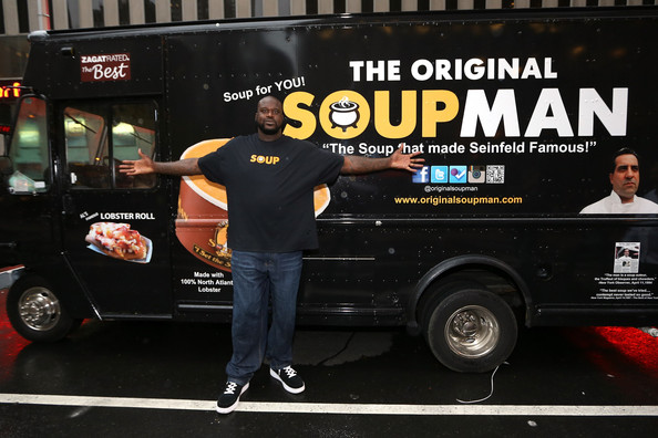 Shaquille O'Neal Joins The Food Truck Industry