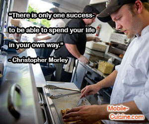 Christopher Morley Success Quote