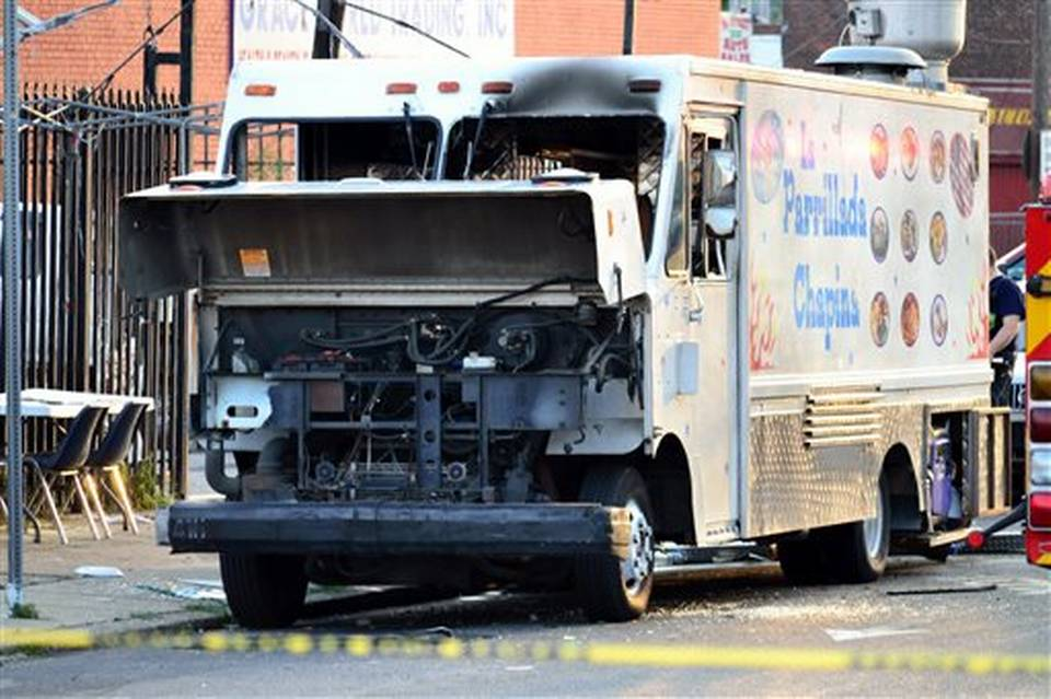 Food Truck Explosion