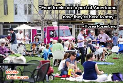 Hosea Rosenberg Food Truck Quote