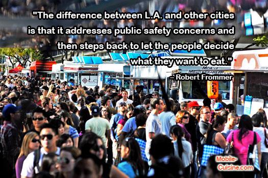 Robert Frommer LA Food Truck Quote