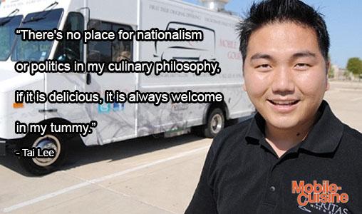 Tai Lee Food Politics Quote