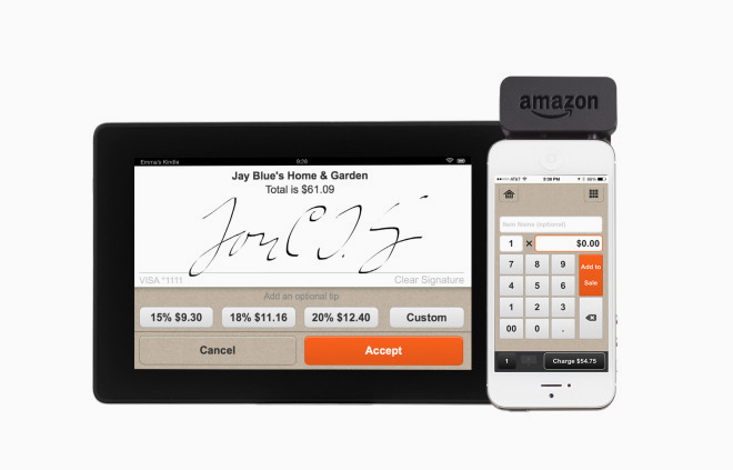 amazon store card to offer mobile payment app and card reader 10040
