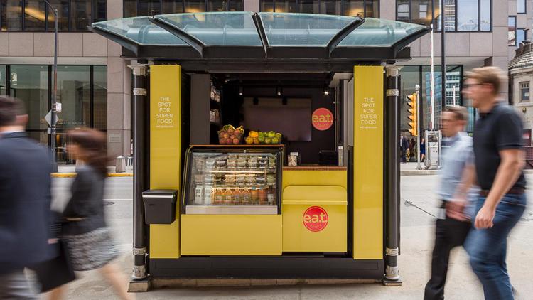chicago food kiosk