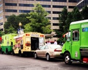 parallel parking a food truck