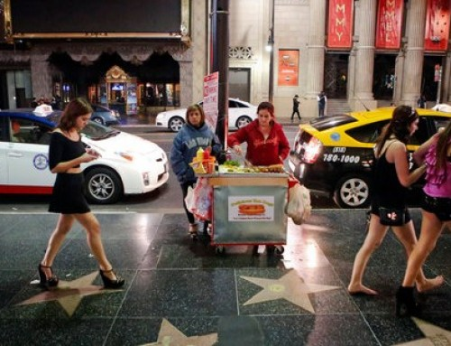 Los Angeles Working On Approving Side Walk Street Food Vending