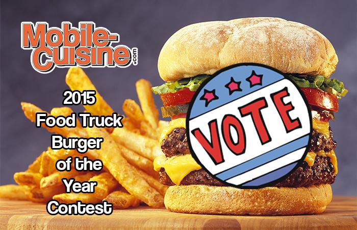 2015 Food Truck Burger Contest