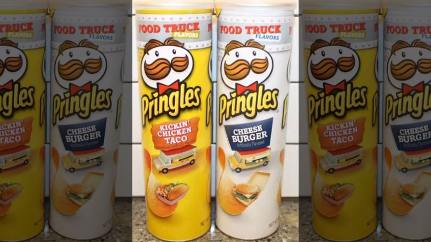 Pringles Jumps On Bandwagon With 2 Food Truck Flavors