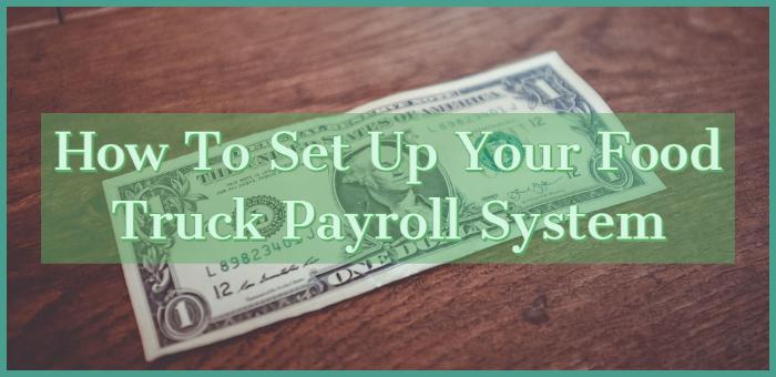 food truck payroll